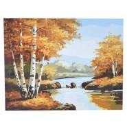 Рисуване по номера - Есен, 40х50см