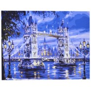 Рисуване по номера - Мост, 40х50см
