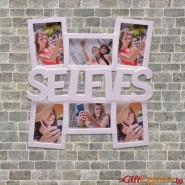 """Рамка за снимки 6 в  -""""Selfies"""""""