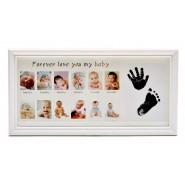 Мултирамка 12 броя снимки новородено