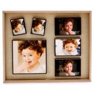 Луксозна рамка за снимки 6 в 1
