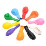 Едноцветни балони - 100 броя