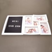 Рамка за снимки 5 в 1 с табло