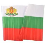 Знаме на България с герб