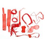 Еротичен комплект - червено