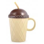 Чаша за горещ шоколад