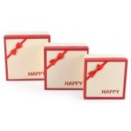 Комплект от три броя квадратни кутии
