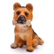 Фигурка на куче с кокал