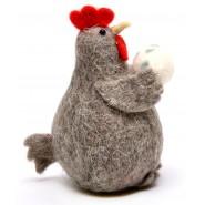 Фигурка на кокошка