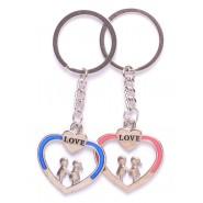 Ключодържатели - влюбена двойка в сърце