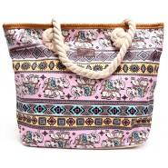 Лятна чанта - орнаменти и слончета