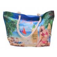 Лятна чанта с момиче