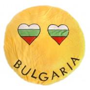 """Възглавничка - емотикон """"BULGARIA"""""""
