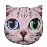 Възглавничка - коте с различни очи