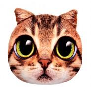 Възглавничка - коте със зелени очи