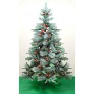Коледна елха с шишарки