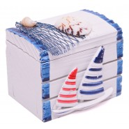 Кутия за бижута - морски мотиви