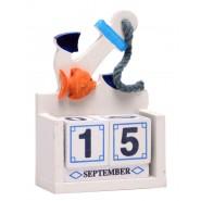 Календар - морски мотиви