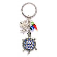 Ключодържател - костенурка с висулки