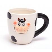 ЧАША - релефна крава