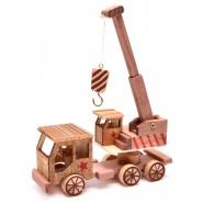 Фигурка - кран камион