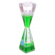 Декоративен часовник - цветна течност