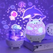 Нощна лампа с проекция