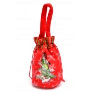 Коледна торбичка за бонбони