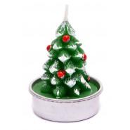 Коледна свещ - елхичка