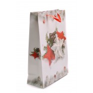 Подаръчна торбичка - коледна