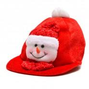 Коледна шапка с фигурка