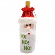 Коледна торбичка за  бутилка