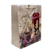 Коледна торбичка свещи