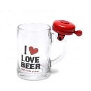 Халба за бира със звънче