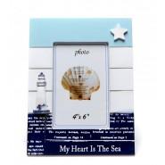 """Рамка """"Моето сърце е в морето"""""""