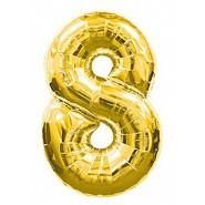 Златен балон - осем