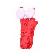 Светещи връзки за обувки в червено