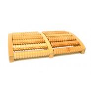 Дървен масажор за крака