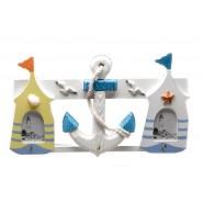 Декоративна закачалка - морски мотиви