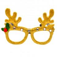 Коледни очила с еленски рога
