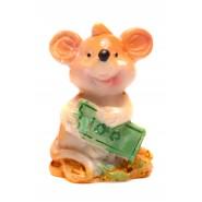Фигурка на плъх с пари