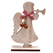 Дървено ангелче