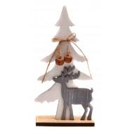 Фигурка на елха с елен