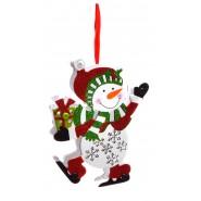Коледна фигурка - снежен човек