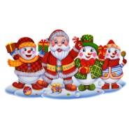 Коледно пано Дядо Коледа