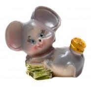 Фигурка на мишка с банкнота