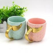 Керамична чаша русалка