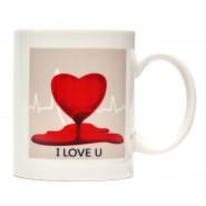Термо чаша - сърце