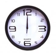 Стенен часовник - черен
