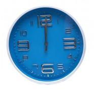 Стенен часовник син циферблат